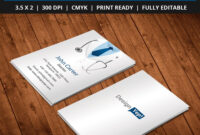 Free-Doctor-Business-Card-Template-Psd | Business Card Psd with Medical Business Cards Templates Free
