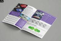 Free Download Bi-Fold Social Media Company Brochure Template regarding Social Media Brochure Template
