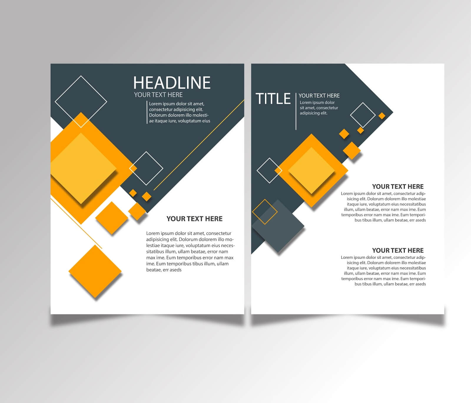 Free Download Brochure Design Templates Ai Files - Ideosprocess Pertaining To Adobe Illustrator Brochure Templates Free Download