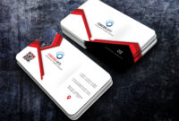 Free Download Professional And Creative Red Business Cards Throughout Templates For Visiting Cards Free Downloads