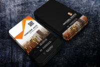 Free Download Professional Building Construction Business intended for Construction Business Card Templates Download Free