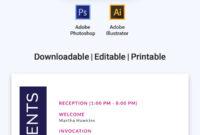 Free Event Program Invitation | Program Template, Event pertaining to Free Event Program Templates Word