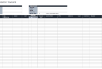 Free Excel Inventory Templates: Create & Manage | Smartsheet in Stock Report Template Excel
