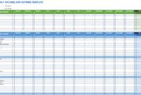 Free Expense Report Templates Smartsheet within Expense Report Spreadsheet Template Excel