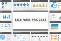 Free Flat Business Process Diagram Powerpoint Template with Powerpoint Sample Templates Free Download