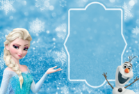 Free Frozen Party Invitation Template Download + Party Ideas in Frozen Birthday Card Template