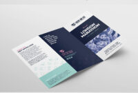 Free Fundraiser Templates Pack – Psd & Ai | Graphic Design pertaining to Tri Fold Brochure Publisher Template