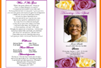 Free Funeral Template Microsoft Word – Ironi.celikdemirsan in Memorial Cards For Funeral Template Free