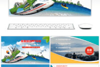 Free General Dynamic Ppt Template For Tourist Industry And throughout Powerpoint Templates Tourism