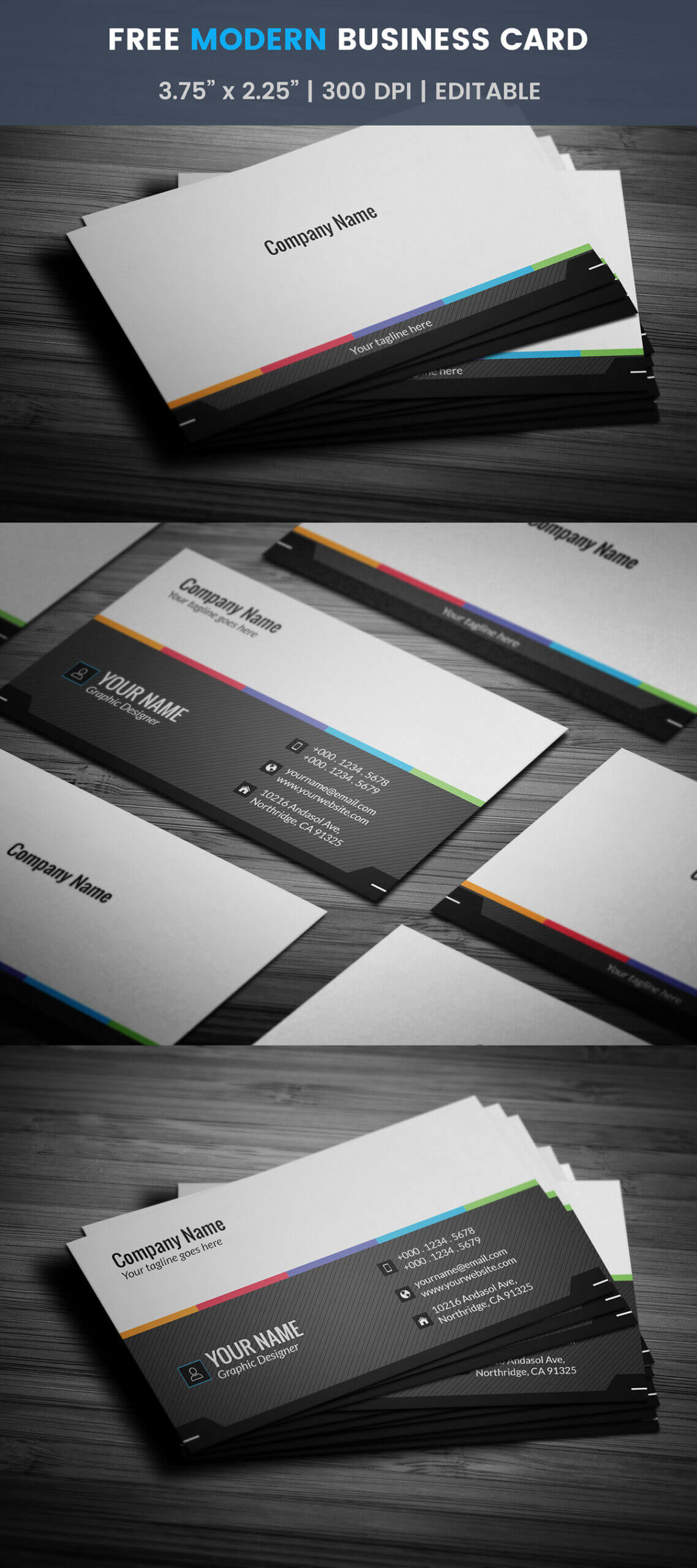 Free Generic Business Card Template On Student Show With Regard To Generic Business Card Template