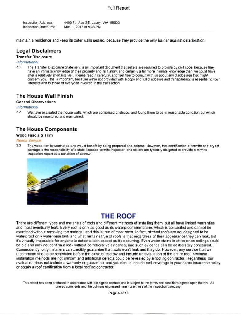 Free Home Inspection Report Form Pdf And Home Inspection Throughout Home Inspection Report Template Free