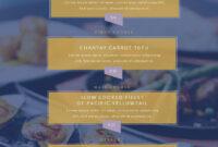 Free Menu Maker | Menu Creator | Visme inside Frequent Diner Card Template