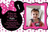 Free Minnie Mouse Birthday Invitations Templates | Minnie regarding Minnie Mouse Card Templates