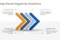 Free Modern Chevron Diagram For Powerpoint with regard to Powerpoint Chevron Template