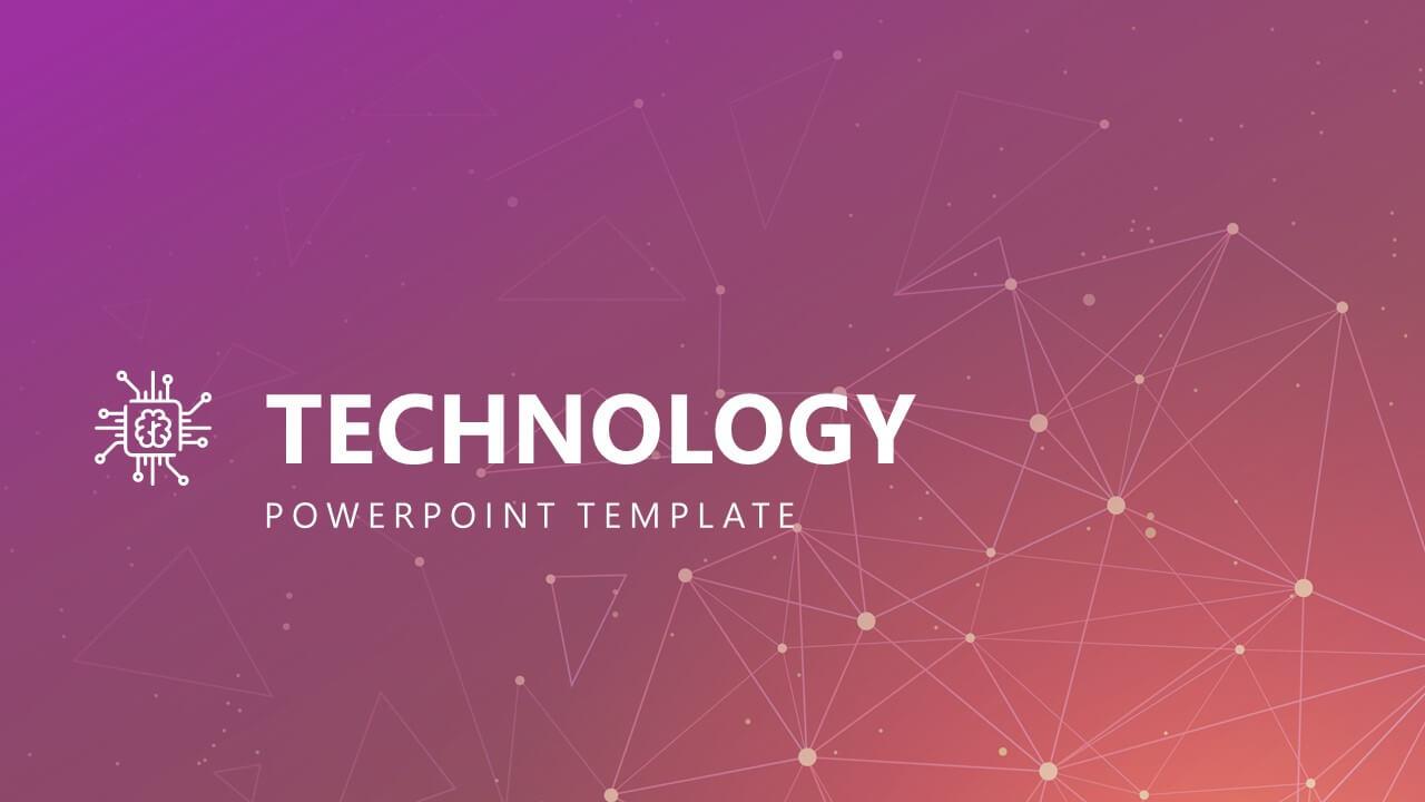 Free Modern Technology Powerpoint Template Pertaining To Powerpoint Templates For Technology Presentations
