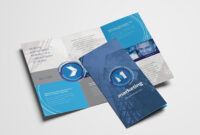 Free Multipurpose Trifold Brochure Template For Photoshop with Three Panel Brochure Template