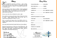 Free Obituary Template – Free Download throughout Free Obituary Template For Microsoft Word