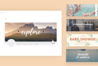 Free Online Banner Maker: Design Custom Banners In Canva in Free Etsy Banner Template