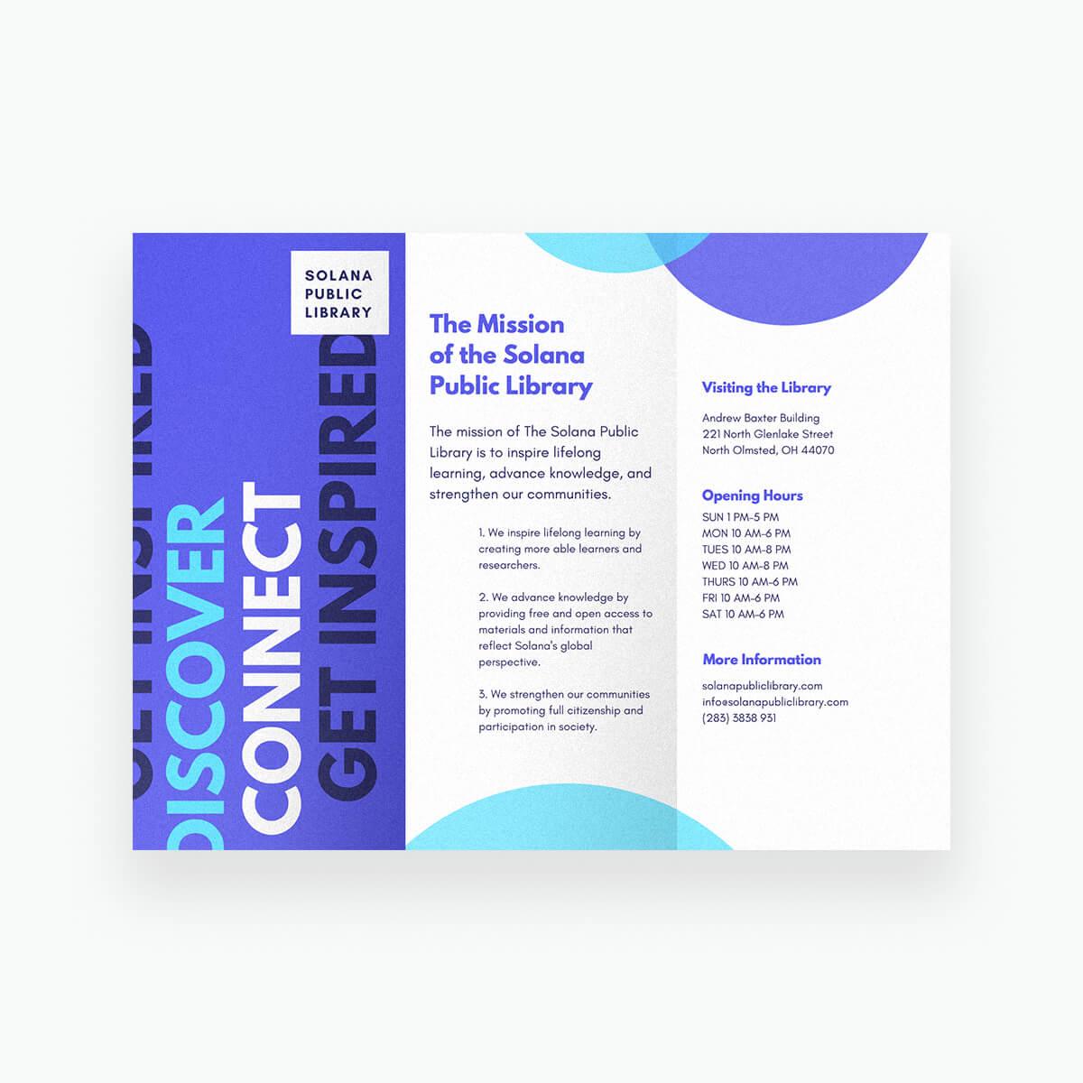 Free Online Brochure Maker: Design A Custom Brochure In Canva In Online Free Brochure Design Templates