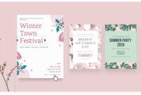 Free Online Flyer Maker: Design Custom Flyers With Canva Intended For Online Free Brochure Design Templates