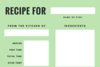 Free Online Recipe Card Maker: Design A Custom Recipe Card intended for Recipe Card Design Template