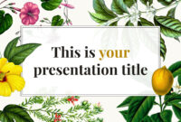 Free Original Powerpoint Template Or Google Slides Theme For Pretty Powerpoint Templates