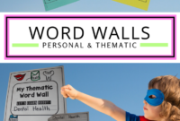Free Personal Word Walls: Student Made Thematic Word Walls inside Personal Word Wall Template