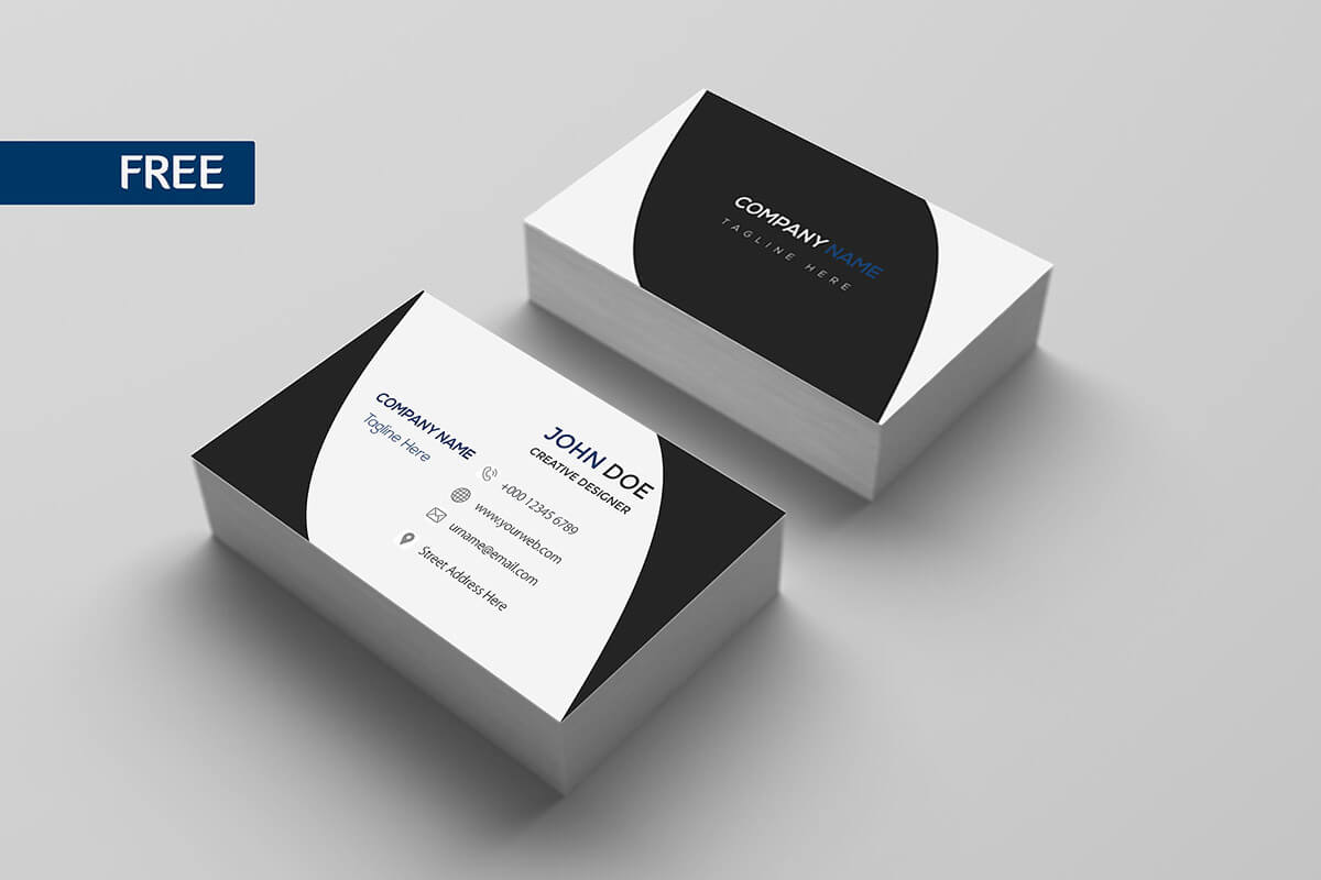 Free Print Design Business Card Template – Creativetacos For Business Card Template Photoshop Cs6