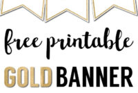 Free Printable Banner Letters Templates | Printable Banner intended for Letter Templates For Banners