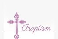 Free Printable Baptism & Christening Invitation Template regarding Blank Christening Invitation Templates