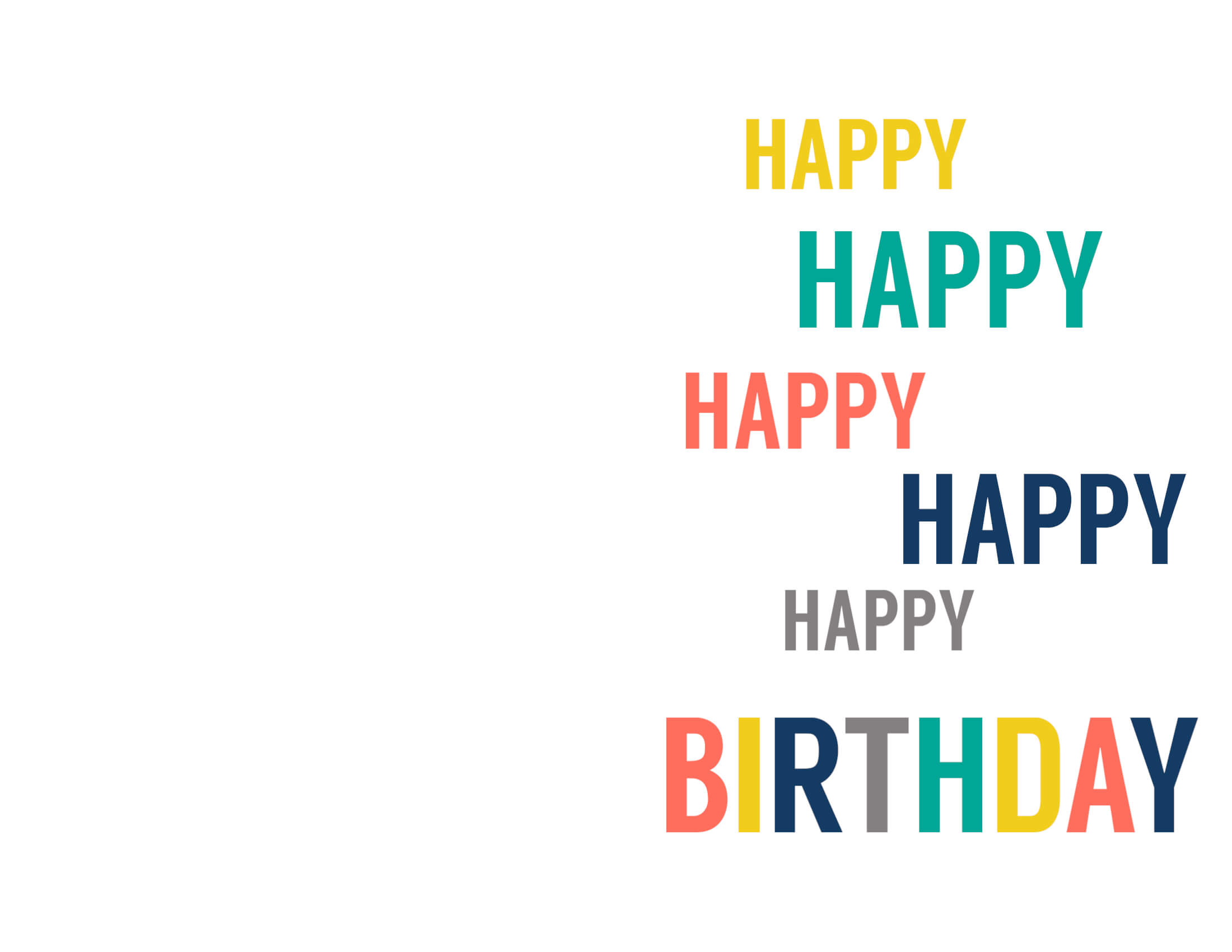 Free Printable Birthday Cards – Paper Trail Design Inside Foldable Birthday Card Template