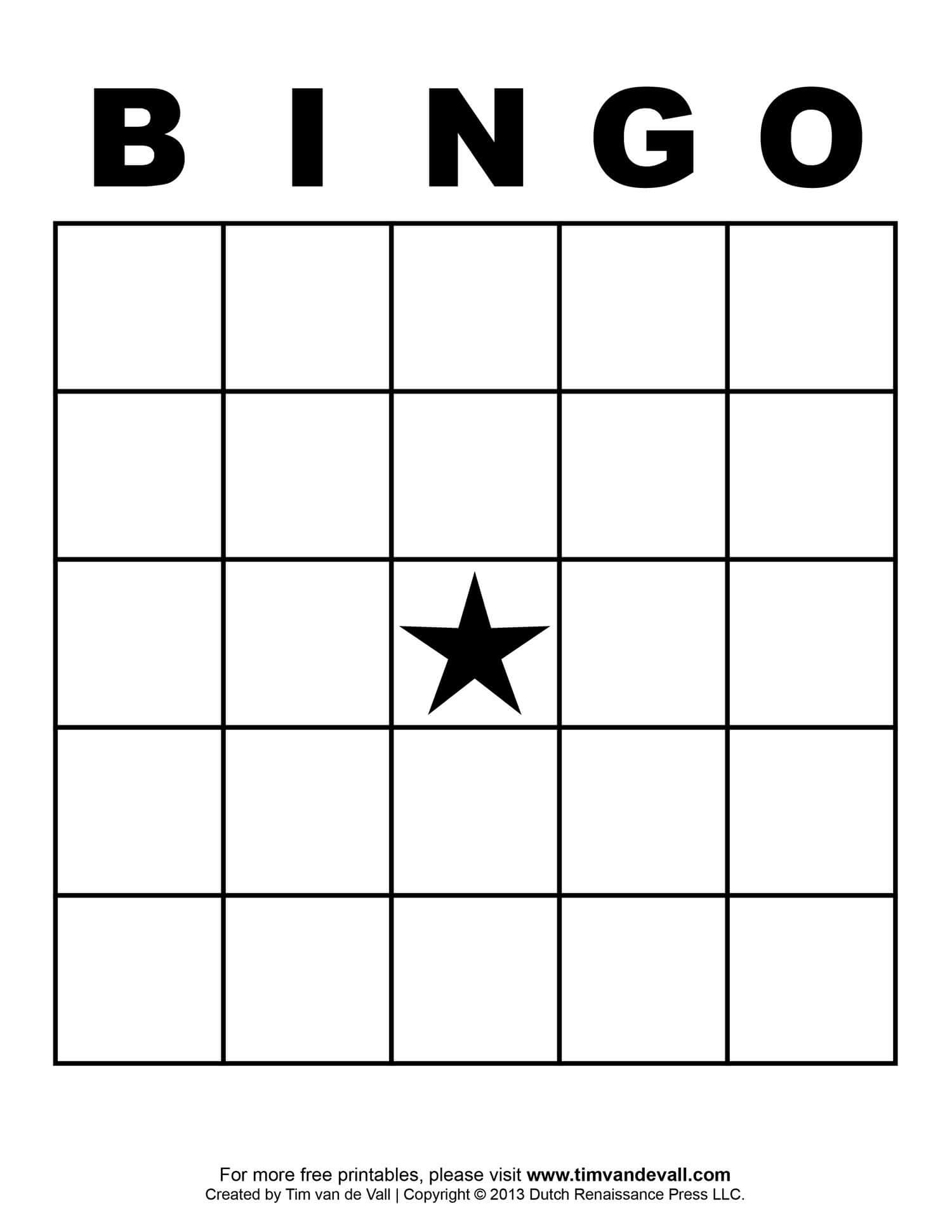 Free Printable Blank Bingo Cards Template 4 X 4 | Bingo Card With Blank Bingo Card Template Microsoft Word