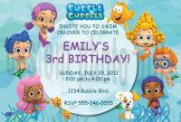 Free Printable Bubble Guppies Invitations | Party in Bubble Guppies Birthday Banner Template