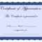 Free Printable Certificates Certificate Of Appreciation Intended For Free Certificate Of Excellence Template