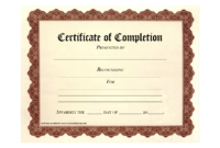 Free Printable Certificates | Certificate Templates with regard to Certificate Of Completion Free Template Word