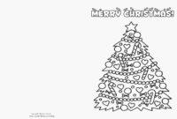 Free Printable Christmas Cards Templates – Zimer.bwong.co in Print Your Own Christmas Cards Templates