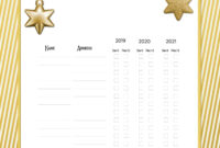Free Printable Christmas Gift List Template with Christmas Card List Template