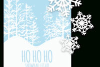 Free Printable Christmas Invitation Templates In Word! for Free Christmas Invitation Templates For Word