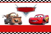 Free Printable Disney Cars Birthday Party Invitations Disney within Cars Birthday Banner Template