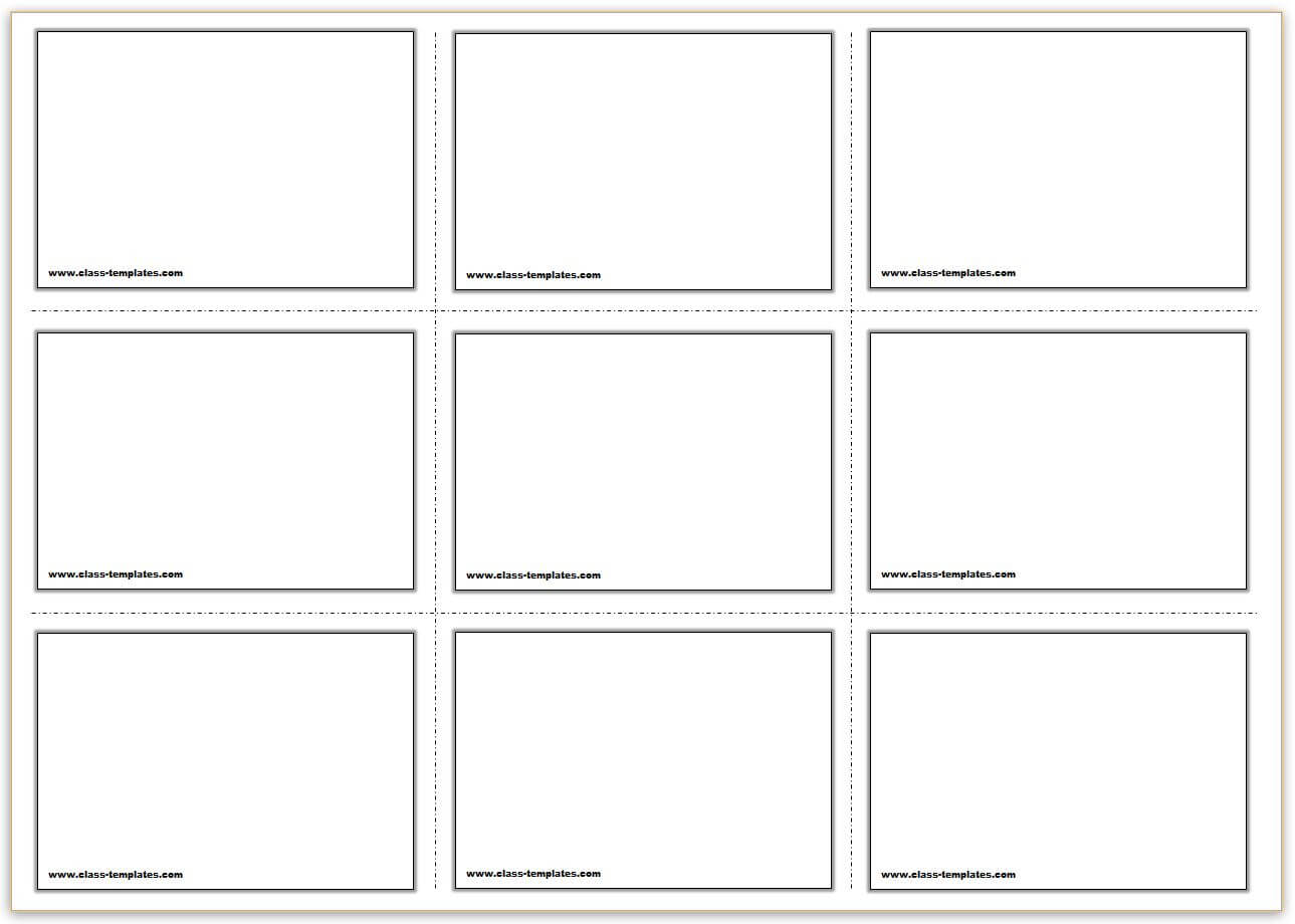 Free Printable Flash Cards Template Within Queue Cards Template
