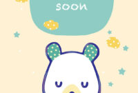 Free Printable Get Well Teddy Bear Greeting Card | Get Well pertaining to Get Well Soon Card Template