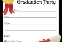 Free Printable Graduation Party Invitations | Free Printable for Graduation Party Invitation Templates Free Word