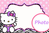 Free Printable Hello Kitty Clipart At Getdrawings | Free intended for Hello Kitty Banner Template