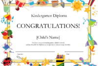 Free Printable Kindergarten Graduation Certificate Template pertaining to Promotion Certificate Template