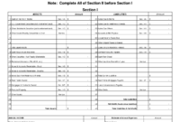 Free Printable Personal Financial Statement | Excel Blank Pertaining To Blank Personal Financial Statement Template