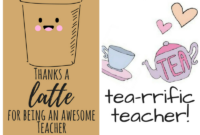 Free Printable Teacher Appreciation Thank You Cards inside Thank You Card For Teacher Template