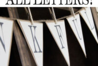 Free Printable Whole Alphabet Banner | Diy Items within Good Luck Banner Template