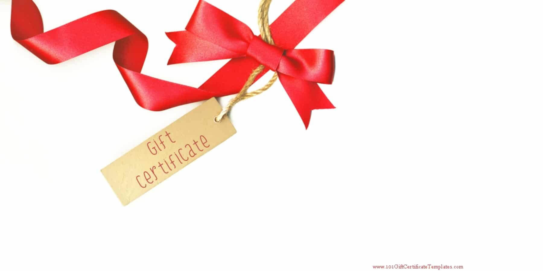 Free Printablegift Certificate Templates Which Can Be Inside Present Card Template