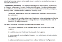 Free Product Development Non-Disclosure Agreement (Nda intended for Nda Template Word Document