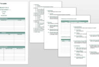 Free Project Management Plan Templates | Smartsheet in Work Plan Template Word